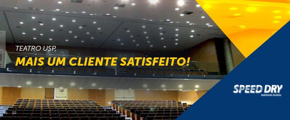 Teatro USP, mais um cliente satisfeito!