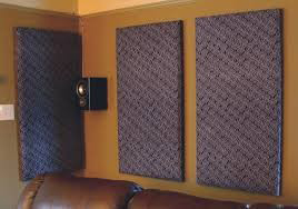 Painel ac stico tecido speed dry for Reduce sound in a room