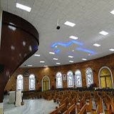 Forro acústico para igreja