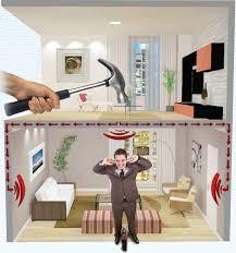 Isolamento acústico piso