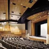 Parede acústica para auditório
