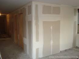 Parede drywall preço m2