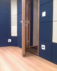 Porta acústica para estúdio