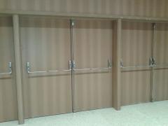 Porta acústica madeira