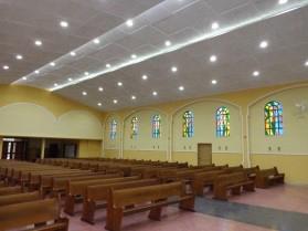 Revestimento acústico para igrejas
