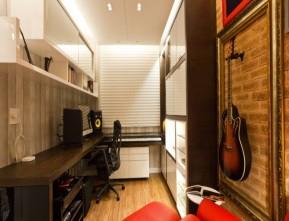 Revestimento acústico para parede de apartamento