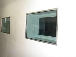 Vidro acústico para estúdio