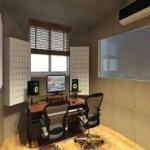 Revestimento acústico para estúdio